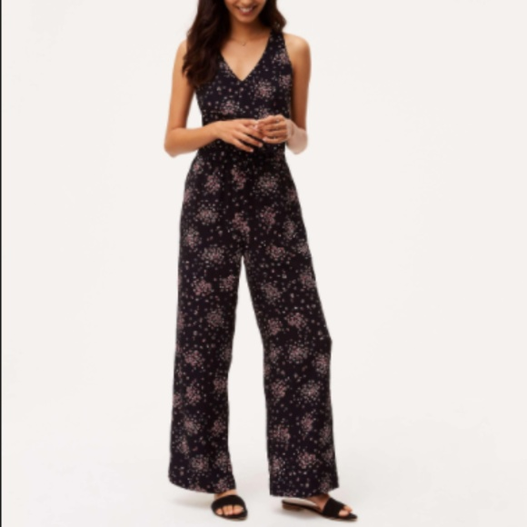 726da6c184c LOFT Petaled Tie Back Jumpsuit